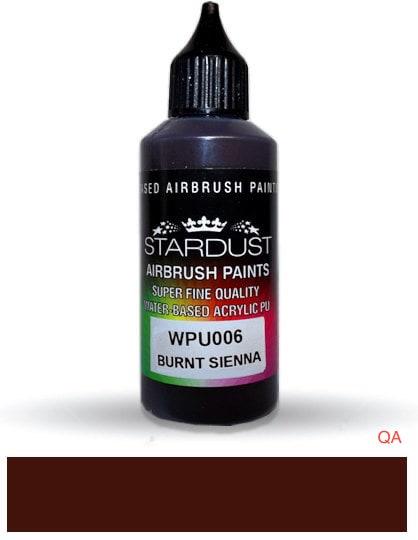 Bote de pintura acrílica tono Tierra-siena sombra