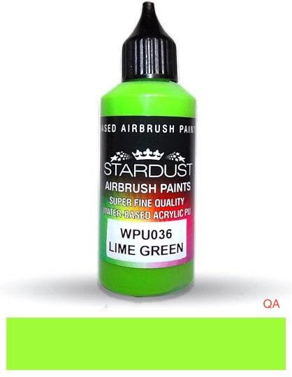 Lime Green pintura ilustración y aerografía