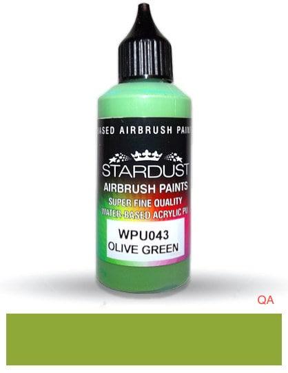 Pintura olive green stardust