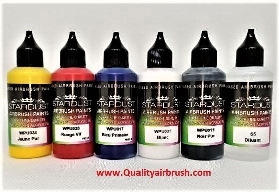 Set pinturas QA basics pack para aeografía