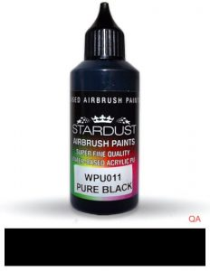 Bote de pintura pure Noir aerografía