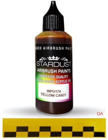 Pintura aerografía Acrilic Stardust Yellow Candy