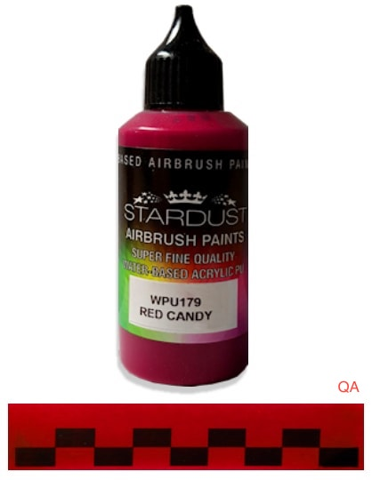 Pintura Acrilic Stardust Red Candy