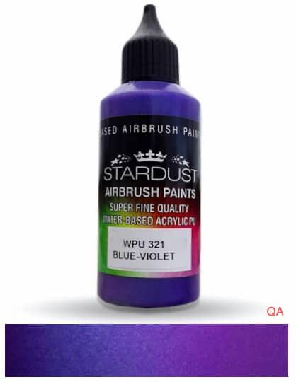 WPU 321 blue violet pintura para aerógrafo