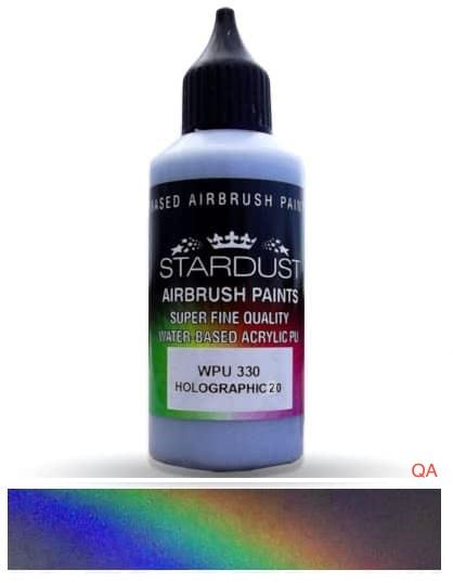 Pintura holográfica aerografía WPU 330 HOLOGRAPHIC 20
