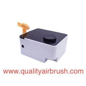 Compresor para aerógrafos
