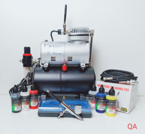 kit aerografía básico qualityairbrush