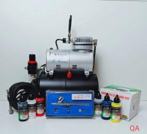 kit de materiales para aerografía