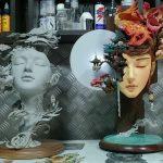 Moonlight dream escultura