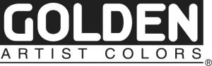 Golden artist color logo